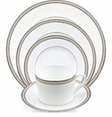 Nikko China Jewel Oyster Pearl 5 Piece Dinnerware Place Setting