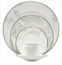 Nikko China Les Feuilles 5 Piece Dinnerware Place Setting