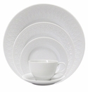 Nikko China Natures Blanc Fleur 5 Piece Dinnerware Place Setting