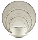 Nikko China South Sea Pearl Symphony 5 Piece Dinnerware Place Setting