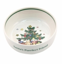Nikko Christmas Giftware Cat Bowl