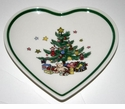 Nikko Christmas Giftware Heart Shaped Dishes (4)