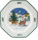 Nikko Christmastime 2011 Collector's Plate