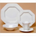 Nikko Ironstone Classic White 4 Piece Dinnerware Place Setting