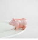 Nora Fleming Oink Oink Culinary Pig Mini Ceramic Charm