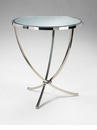 Nuovo Stainless Steel Foyer Table by Cyan Design