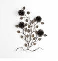 Oakdale Floral Iron Wire Wall Decor by Cyan Design