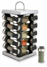 Olde Thompson Spice Rack 20 Jar Square Stainless