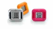 Orka Dual Digital Timer - Orange