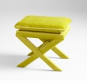 Otto Stool Green by Cyan Design
