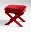 Otto Stool Red by Cyan Design