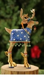 Patience Brewster Dashaway Comet Reindeer Ornament