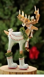 Patience Brewster Dashaway Dasher Reindeer Ornament