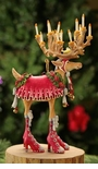 "Patience Brewster Dashaway ""Donna"" Reindeer Ornament"