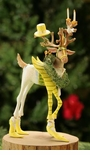 Patience Brewster Dashaway Prancer Reindeer Ornament