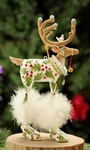 Patience Brewster Dashaway Vixen Reindeer Ornament