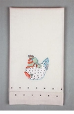 Patience Brewster Krinkles Chicken Tea Towel