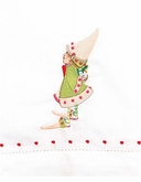 Patience Brewster Krinkles Cupid's Elf Tea Towel