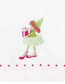 Patience Brewster Krinkles Dancer's Elf Tea Towel