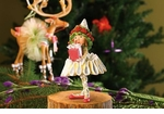 Patience Brewster Krinkles Dancer's Gift Elf Ornament