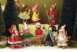 Patience Brewster Krinkles Dash Away Elf Ornament Set