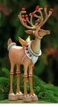 Patience Brewster Krinkles Dash Away Reindeer Cupid Figure