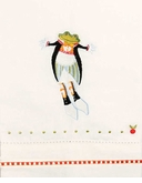Patience Brewster Krinkles Lord A Leaping Tea Towel
