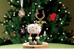 Patience Brewster Krinkles Mini Blitzen Ornament