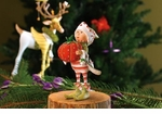 Patience Brewster Krinkles Prancer's Tailor Elf Ornament