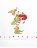 Patience Brewster Krinkles Prancer's Tailor Elf Tea Towel