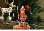 Patience Brewster Krinkles Vixen's Painter Elf Ornament