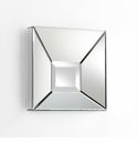 Pentallica Square Mirror by Cyan Design