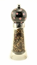 Pep Art Comet Pepper Mill - Black with Red Dots
