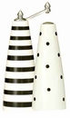 Pep Art Peel Pepper Mill & Salt Shaker Set - Black & White