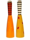 Pep Art Pepper & Salt Mill Twin Set - Orange & Yellow