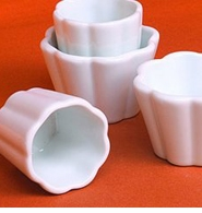 Pillivuyt French Porcelain Souffles, Gratins, Flans and Forms