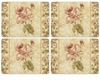 "Pimpernel Antique Rose Linen 16"" x 12"" Placemats (Set of 4)"