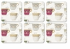 Pimpernel Tea Cups Antiquities Coasters Set of 6