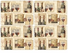 Pimpernel The French Cellar Placemats Set of 4