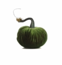"Plush Pumpkin 10"" Decorative Pumpkin - Watermelon"