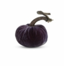 "Plush Pumpkin 4"" Decorative Pumpkin - Amethyst"