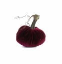 "Plush Pumpkin 4"" Decorative Pumpkin - Magenta"