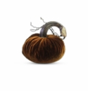 "Plush Pumpkin 5"" Decorative Pumpkin - Harvest"