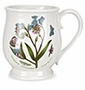 Portmeirion Botanic Garden 16 Ounce Bristol Tankard Mugs (Assorted Set of 6)
