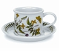 Portmeirion Botanic Garden 7 oz Tea or Coffee Cup & Saucers (6)