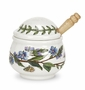 Portmeirion Botanic Garden Classics Condiment Pot with Spoon, Speedwell