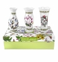 "Portmeirion Botanic Garden Set of 3 Mini Vases 5"" Tall"