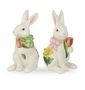 Portmeirion Botanic Garden Terrace Bunny Salt & Pepper 4.5""