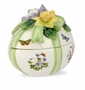 Portmeirion Botanic Garden Terrace Egg Covered Box 6""