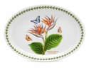 Portmeirion Exotic Botanic Garden Bird of Paradise Oval Platter 11""